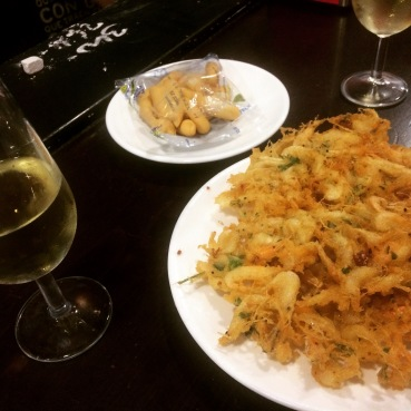 Tortilla camarones Balbino
